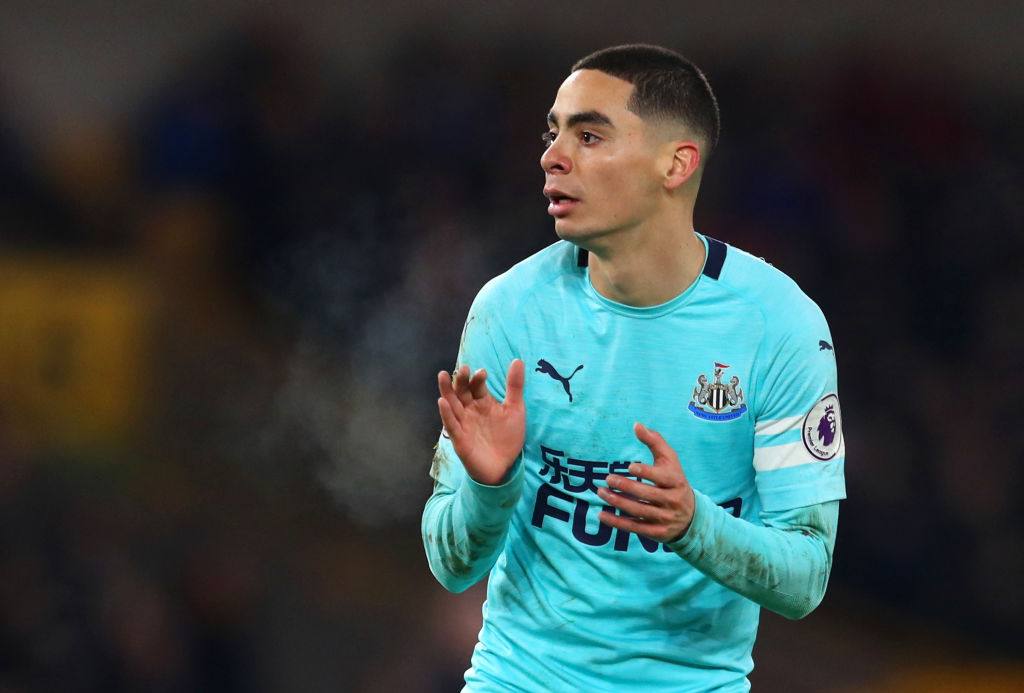 Newcastle Fans Love Miguel Almiron's Energy In Cameo