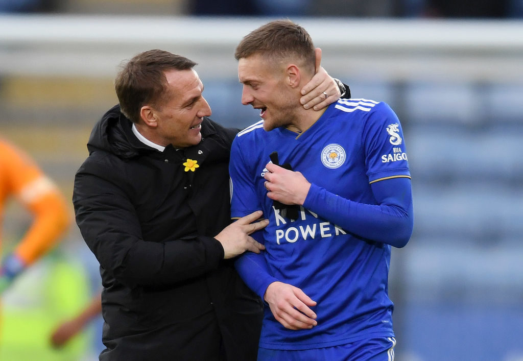 Leicester squad depth a big festive plus for Brendan Rodgers