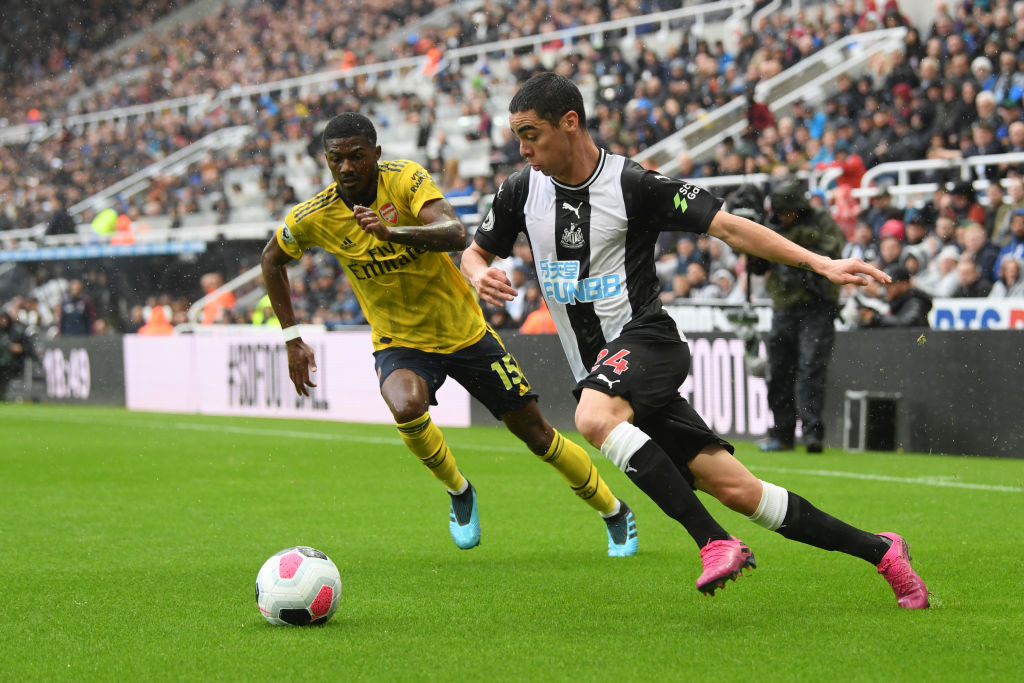 Miguel Almiron Isn't Worried About His Newcastle Goal