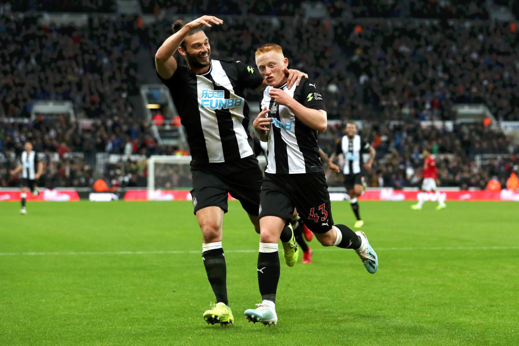 Former Newcastle saviour's vision looked closer than ever during Man United win