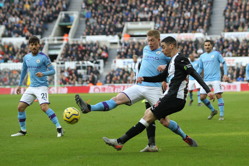 Almiron breaks duck to earn Newcastle win over Palace