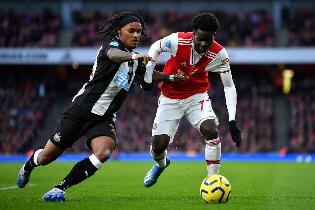'It's clear': Some Toon fans think 'exposed' player was in the wrong position vs Arsenal