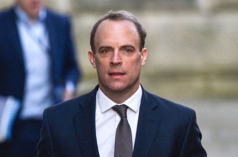 Dominic Raab comments on potential Newcastle takeover