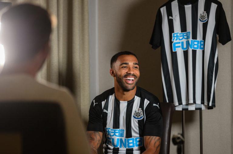 Newcastle United Unveil New Signing Callum Wilson