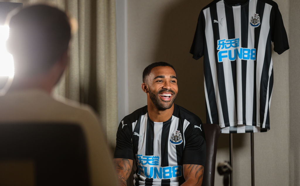 Newcastle United Unveil New Signing Callum Wilson