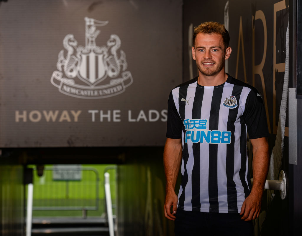 Newcastle United Unveil New Signing Ryan Fraser