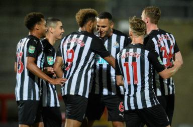 Morecambe v Newcastle United - Carabao Cup Third Round