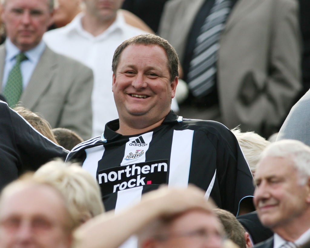 Mike Ashley is reportedly confident that the buyers will wait.