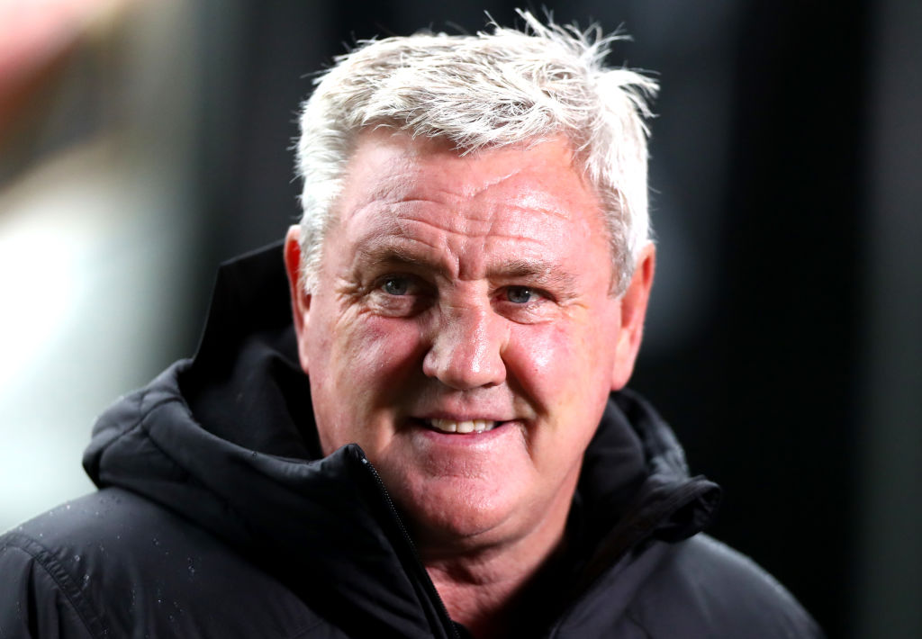 Steve Bruce is preparing his Newcastle team for a trip to Crystal Palace.