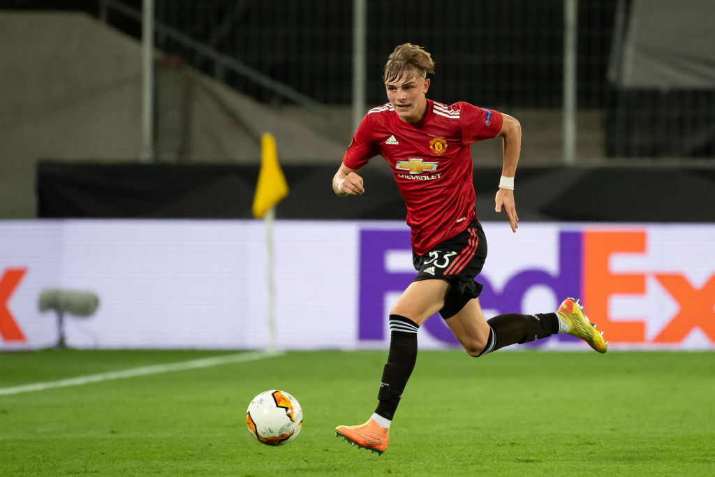 Brandon Williams of Manchester United has been linked with Newcastle