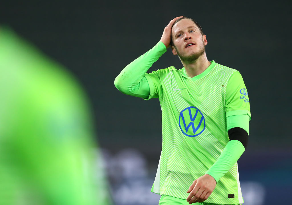 Wout Weghorst of Wolfsburg has been linked to Newcastle.
