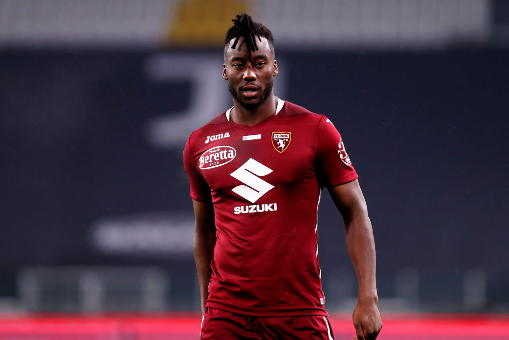 Soualiho Meite of Torino Fc  looks on during the Serie A