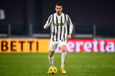 Radu Dragusin of Juventus FC in action during the Coppa