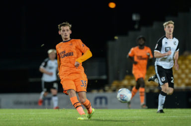Port Vale v Newcastle United: Leasing.com Trophy