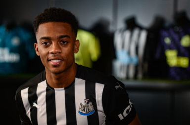 Newcastle United Unveil New Signing Joe Willock