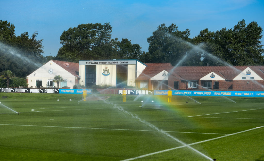 Newcastle United Training Session and Press Conference
