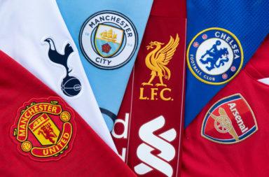 The Top Six Club Badges
