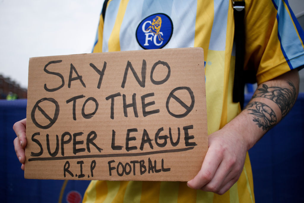 The 'big six' in the Premier League are reportedly set to receive a tiny punishment for their involvement in the European Super League.