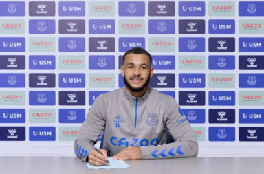 New Everton Signing Joshua King