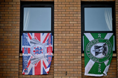 Rangers Play Former Champions After Winning The SPFL And Ending Celtic's  Nine-Year Run At The Top
