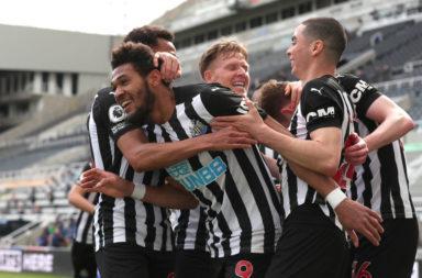 joelinton Newcastle United v Tottenham Hotspur - Premier League