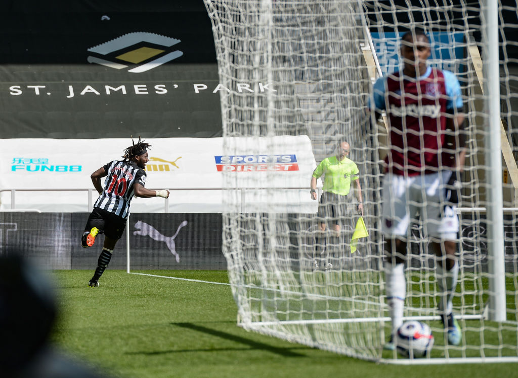 Saint-Maximin played a key role in keeping Newcastle up this season.