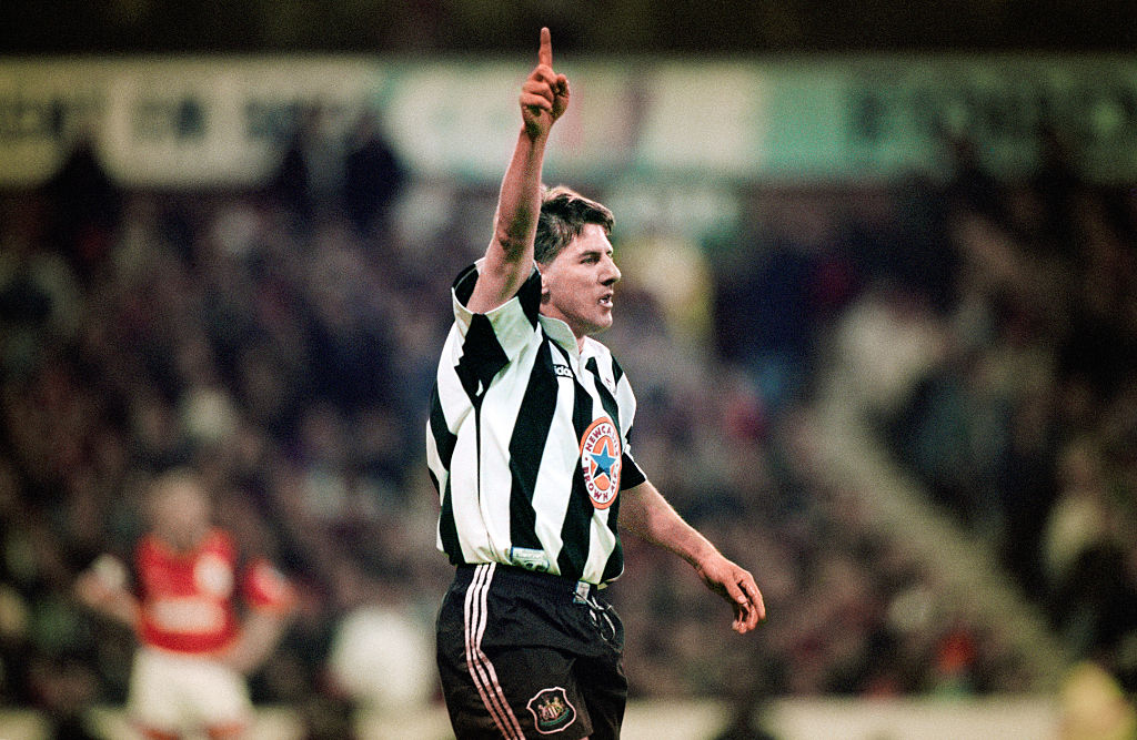 Peter Beardsley Newcastle United May 1996