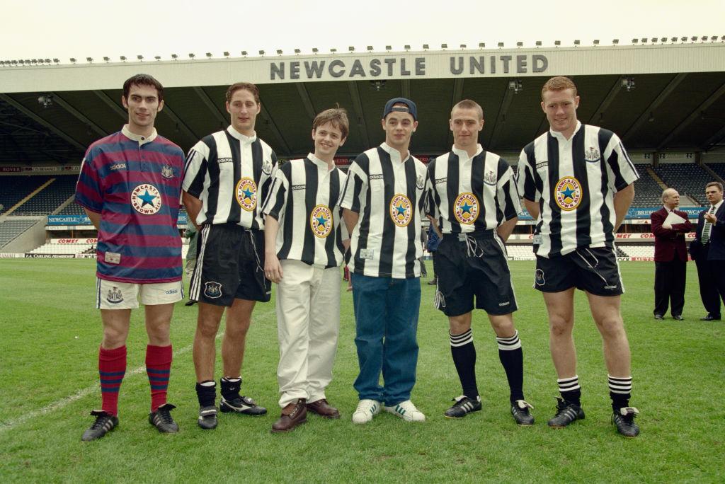 Newcastle United Adidas Kit Launch May 1995