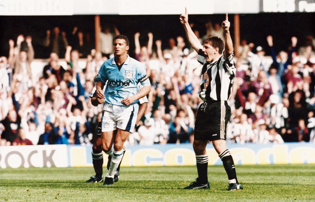 Newcastle United 3 v Manchester City  1
