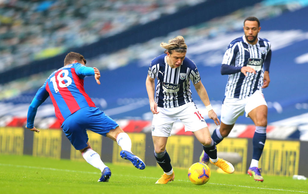 Conor Gallagher impressed on loan at West Brom this season.