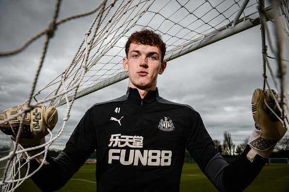 Dan Langley Signs a New Contract at Newcastle United