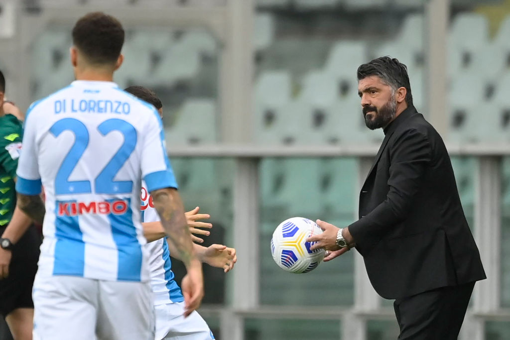 After 23 days, Gattuso has walked out after a dispute over transfers.
