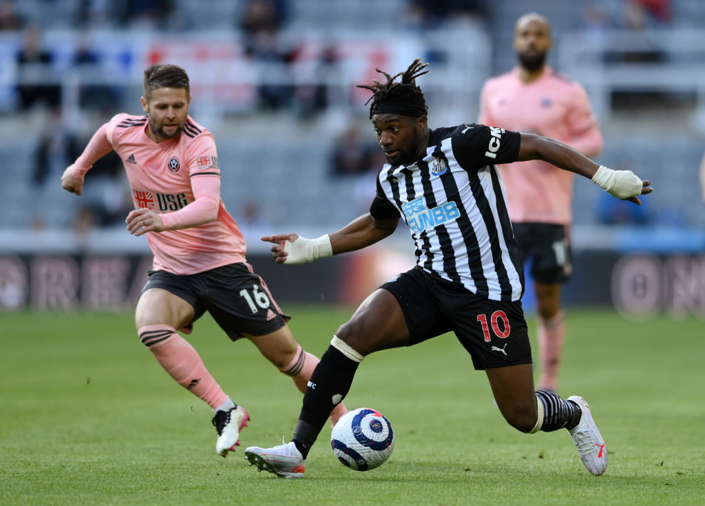 Saint-Maximin has been linked with a move away from Newcastle, but he should stay for a few more years.