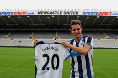 Newcastle United Unveil New Signing Florian Thauvin