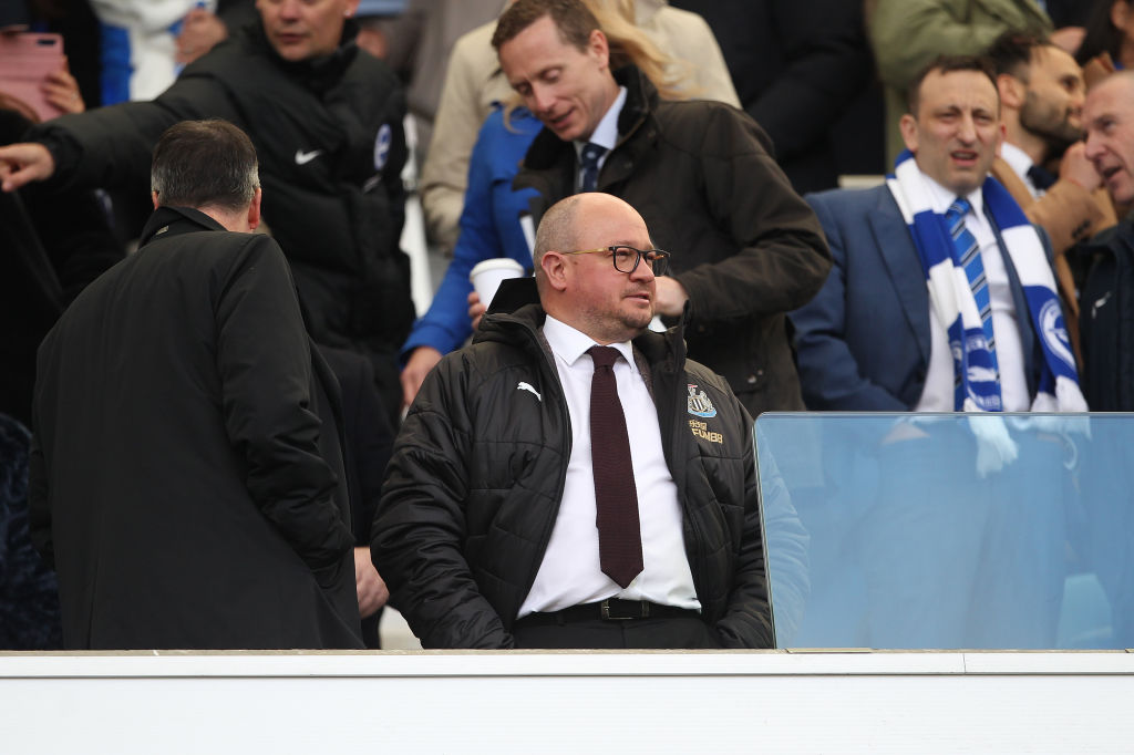 Lee Charnley has been at Newcastle for more than 20 years.