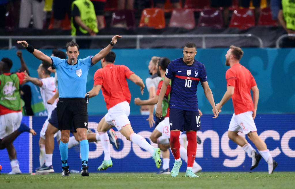Kylian Mbappe missed the final penalty to knock France out of Euro 2020.
