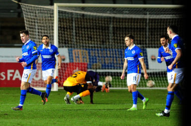 Newport County v Brighton And Hove Albion - FA Cup Third Round