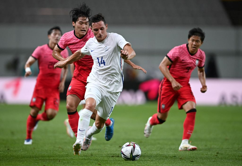 Florian Thauvin is part of France's Olympics squad.
