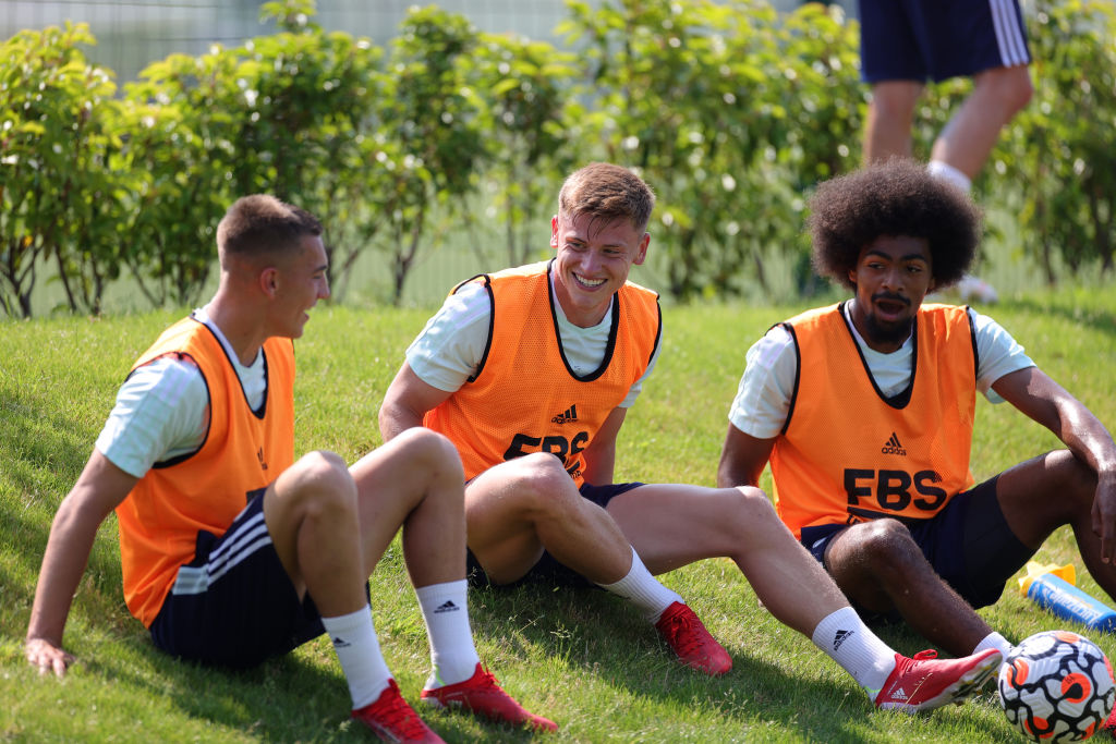Leicester City Training Session
