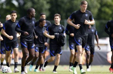"""UEFA 2020 U21""""Training session The Netherlands U21"""""""