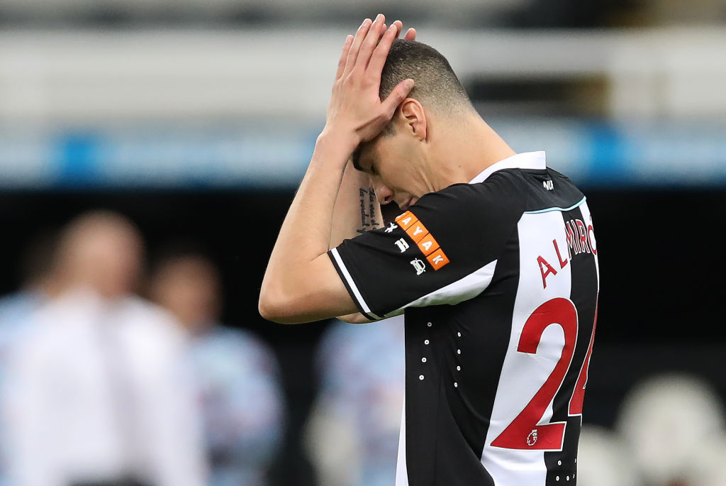 Miguel Almiron has to be in Newcastle's best starting XI