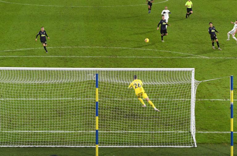 karl darlow Leeds United v Newcastle United - Premier League