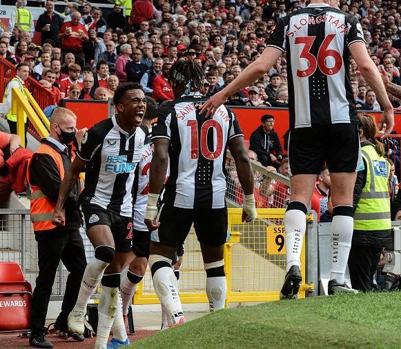 Allan Saint-Maximin Manchester United v Newcastle United - Premier League
