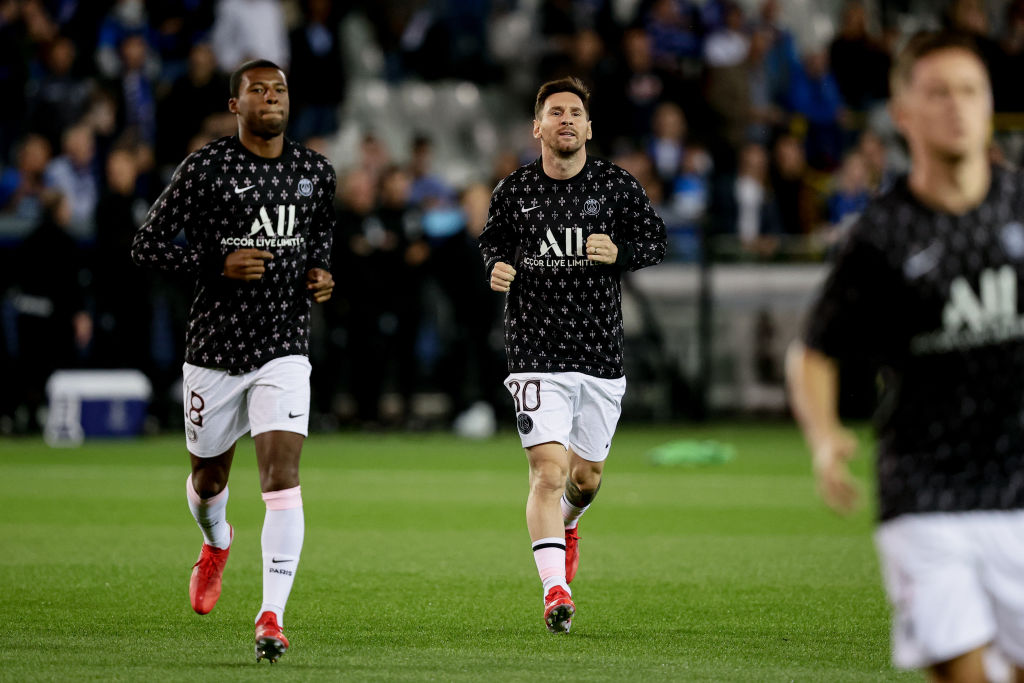 Club Brugge v Paris Saint Germain - UEFA Champions League