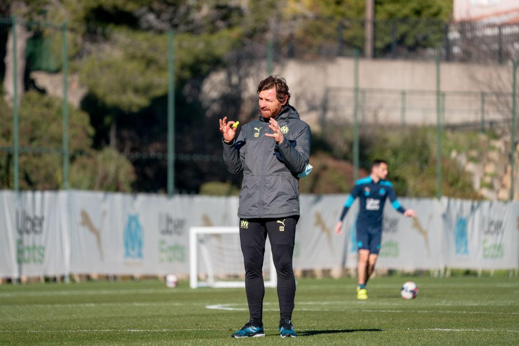 Olympique de Marseille Training Session