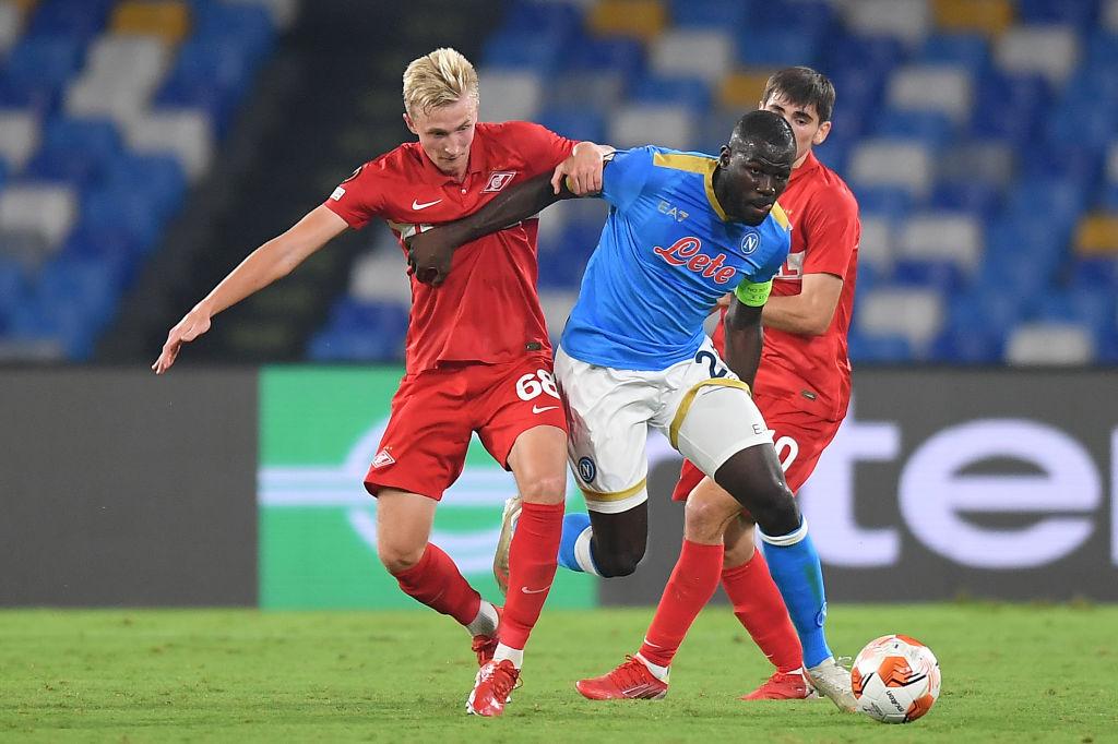 SSC Napoli v Spartak Moskva: Group C - UEFA Europa League