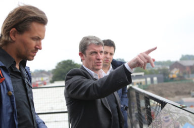 Brian Marwood at Manchester City CFA Site - Manchester